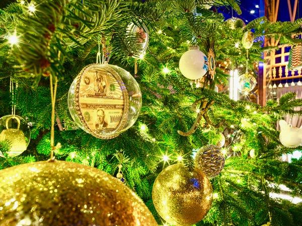A világ legdrágább karácsonyfája